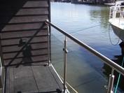 Waterwoningen diverse hekwerken
